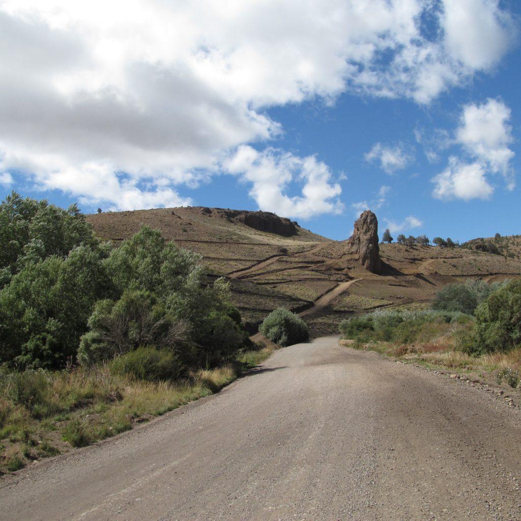 Trayecto de Pilcaniyeu en Ruta 23