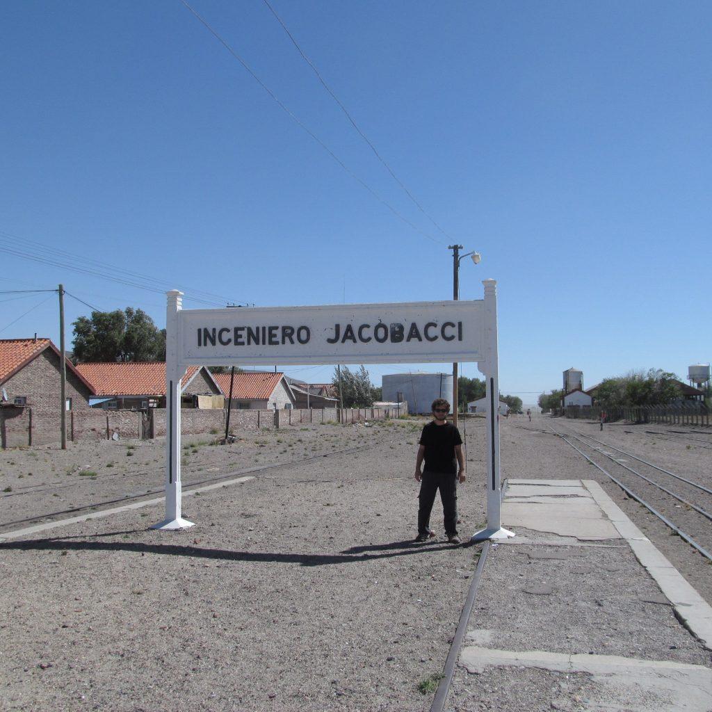 Estacion de Jacobacci ruta 23