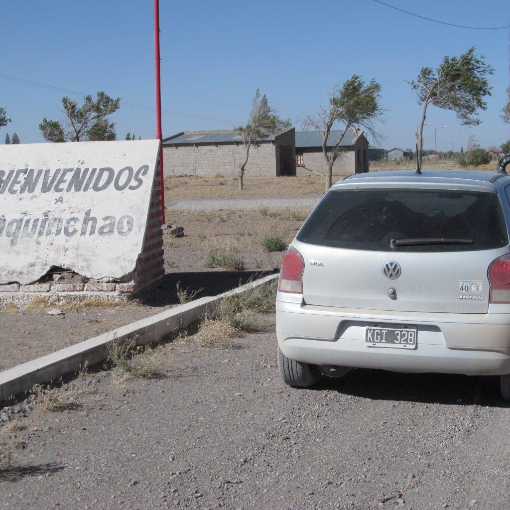 Entrada a Maquinchao ruta 23
