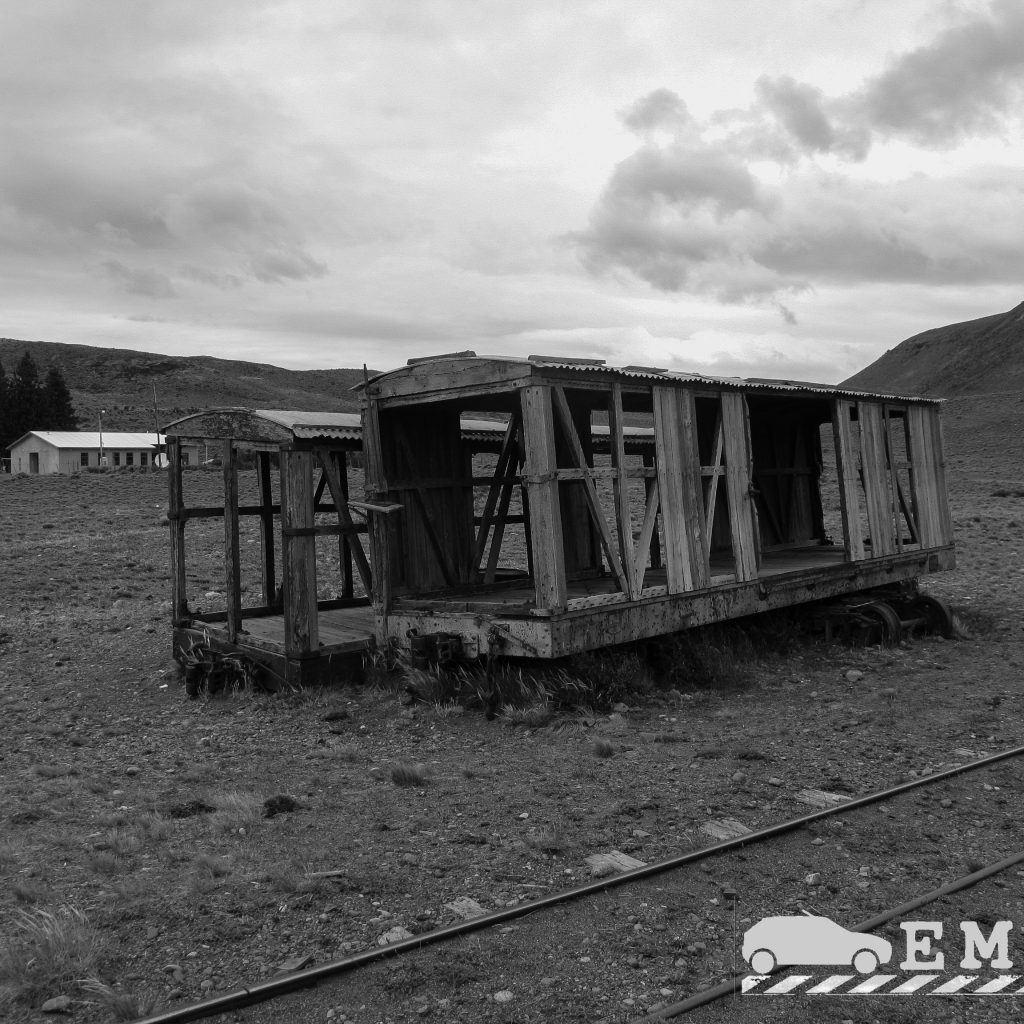 Vagon abandonado La Trochita