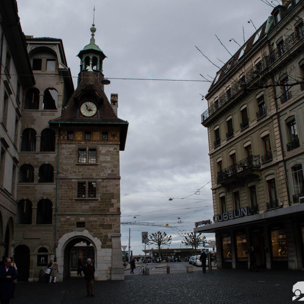 Ciudad en Suiza