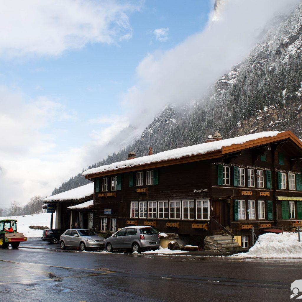 montaña en Suiza