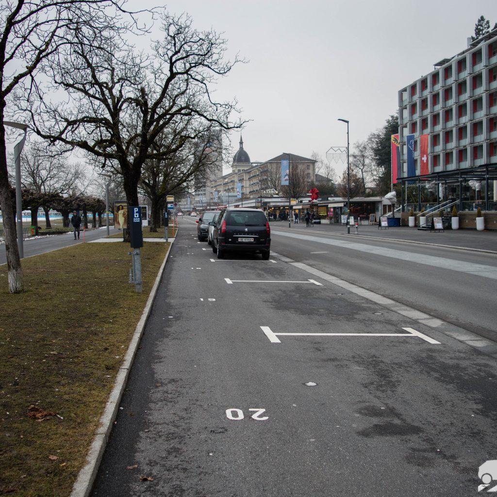 Estacionamientos publicos en Suiza