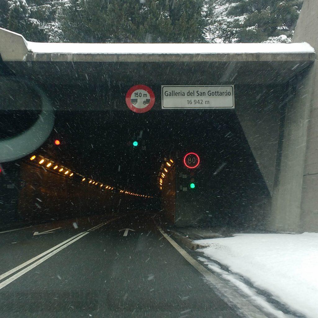 Tunel de san Gotardo