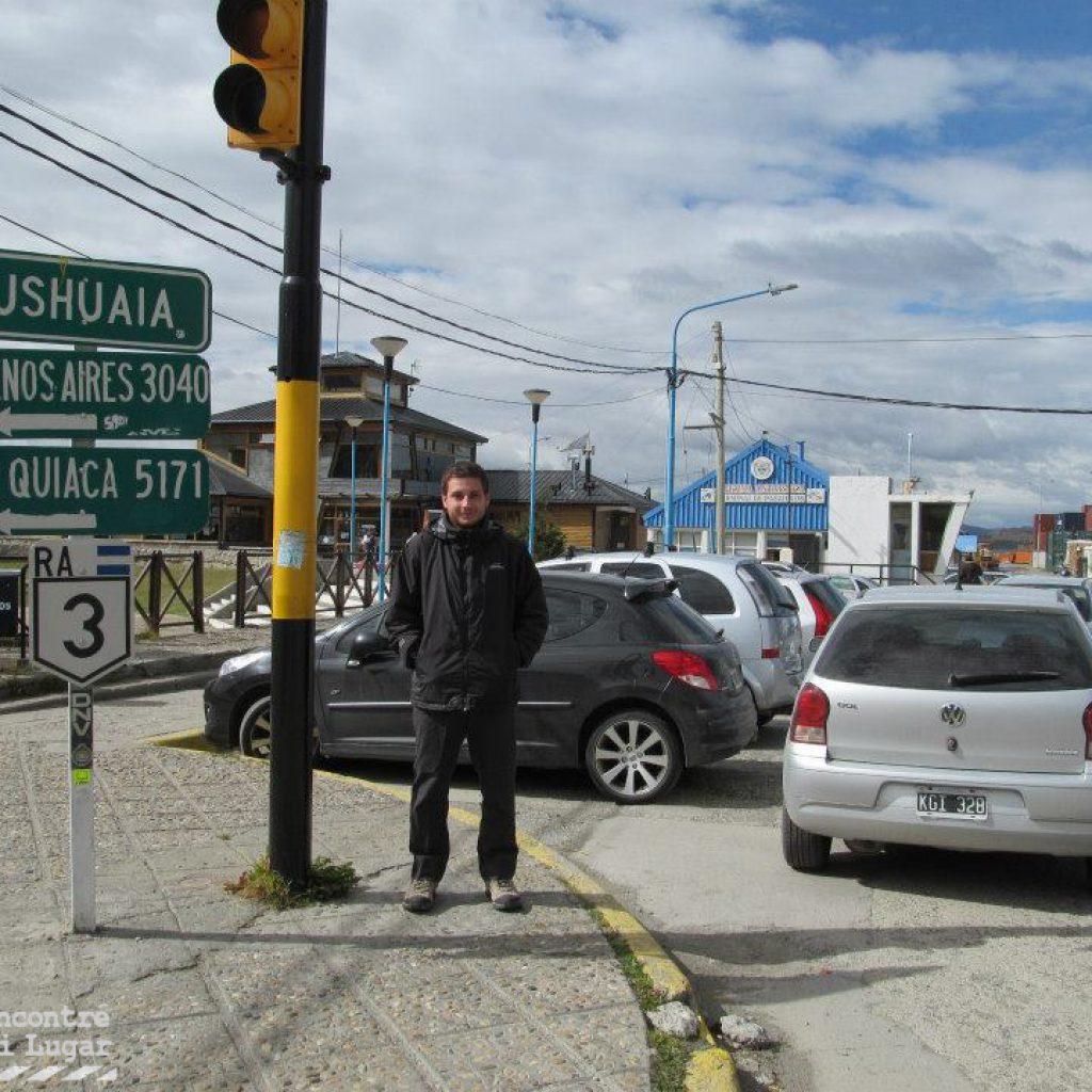 Ruta 3 en Ushuaia