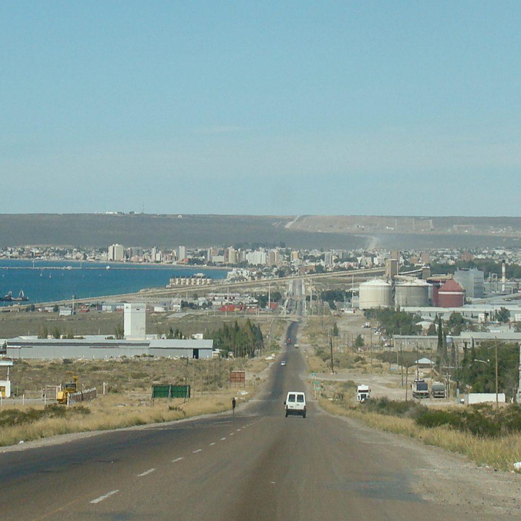 Entrada Puerto Madryn