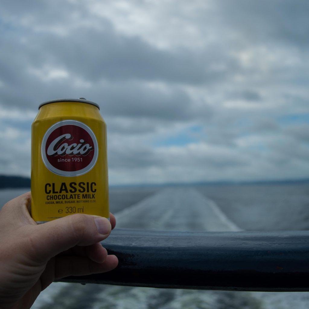 Desayuno en el mini crucero a Oslo
